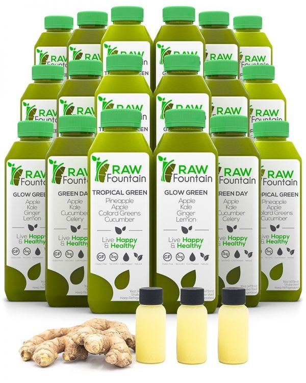Raw Fountain 5 Day Juice Green Cleanse