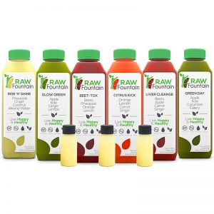 Raw Fountain Juice 7 Day Juice Cleanse
