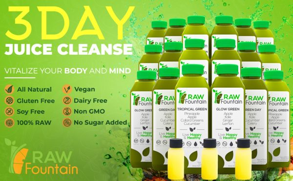 Natural Green Detox 3 Day Juice Cleanse