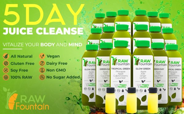 Natural Green Detox 5 Day Juice Cleanse