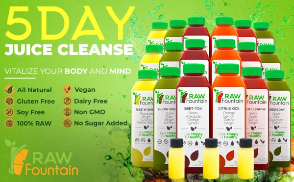 Raw Cold Pressed 3 Day Juice Cleanse