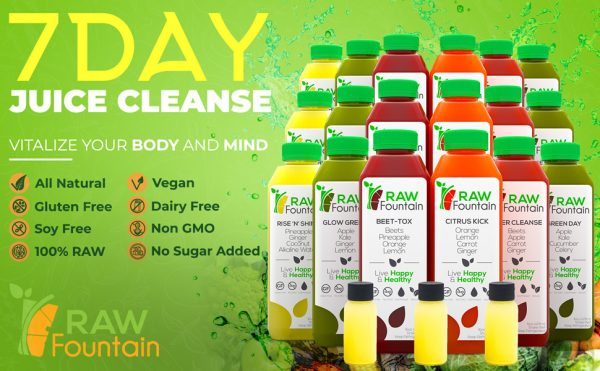 7 Day Juice Cleanse Bottle