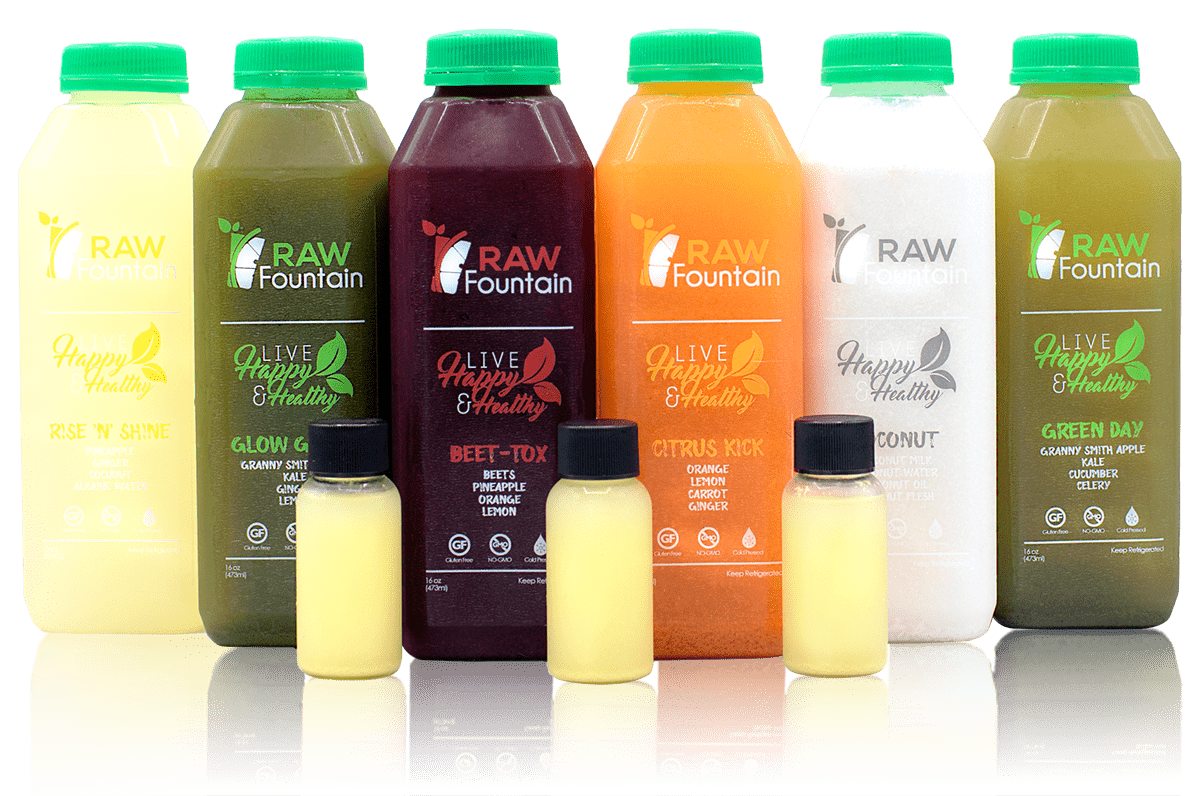 Raw Juice Cleanse Juice Cleanse Services Raw Fountain Juice