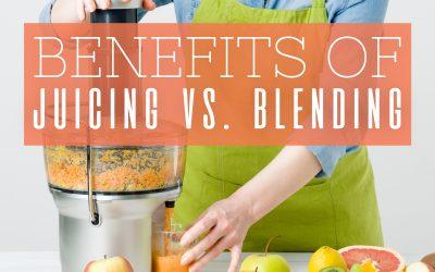 Benefits of Juicing vs. Blending