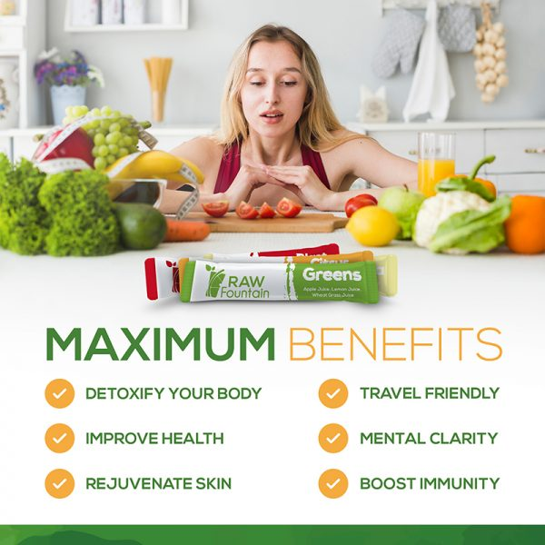 Benefits From Raw Fountain Juice Cleanse