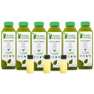 Glow Green Coconut 18 Bottles Juice Cleanse